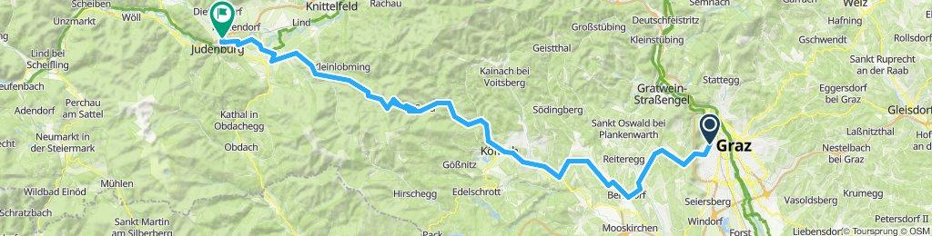 Graz - Gaberl - Judenburg