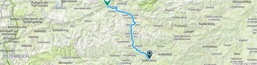 Judenburg - Hohentauern - Liezen