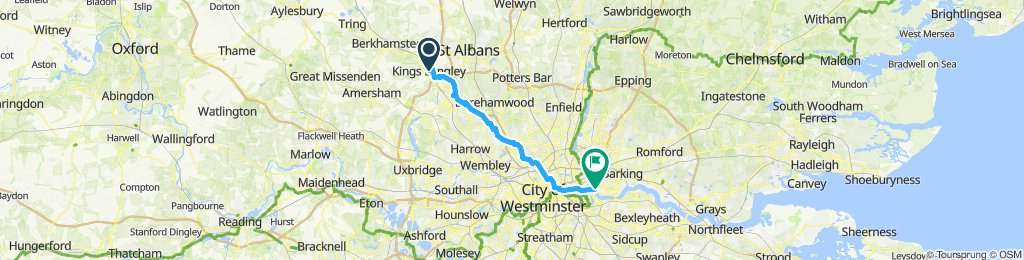 Route 6 - Back to London