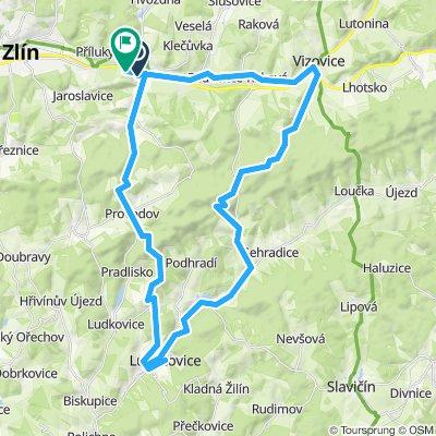 Želechovice - Loučka - Zelechovice