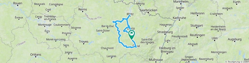 Tour de Lorraine été 2021