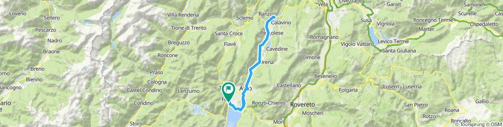 Sarca Radweg Gardasee