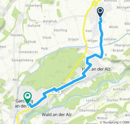 Slow ride in Unterneukirchen
