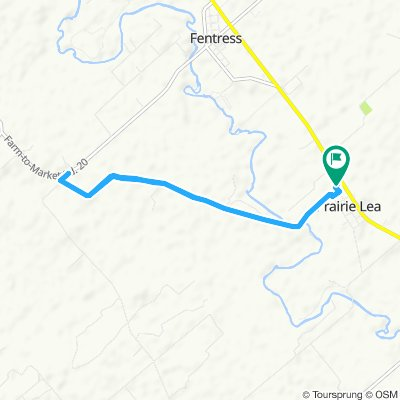 Slow ride in Prairie Lea