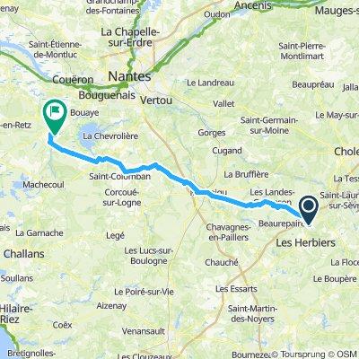 Itinéraire modéré en Sainte-Pazanne