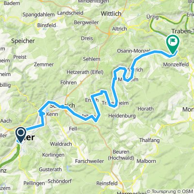 Trier - Bernkastel-Kues