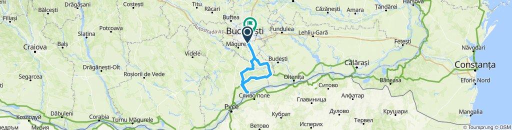 București - Comana - Gostinu - Greaca - Hotarele - București