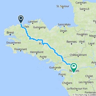 Nantes to Roscoff