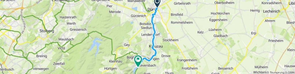 Von Düren nach Untermaubach