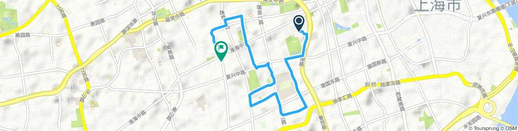 Slow ride in Shanghai