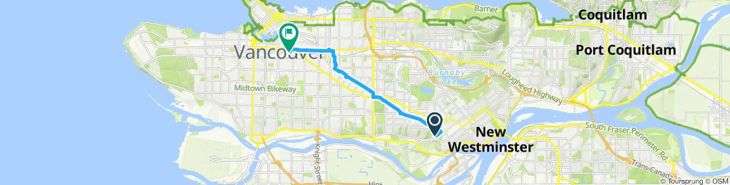 Moderate route in Vancouver