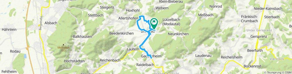 Gemütliche Route in Modautal