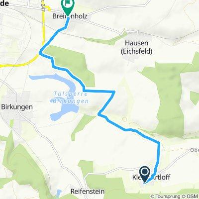 Gemütliche Route in Leinefelde-Worbis