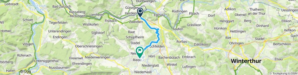 Gemütliche Route in Neerach