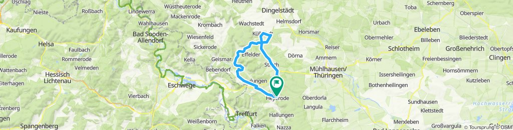 Tour Lengefeld Küllstedt Heyerode
