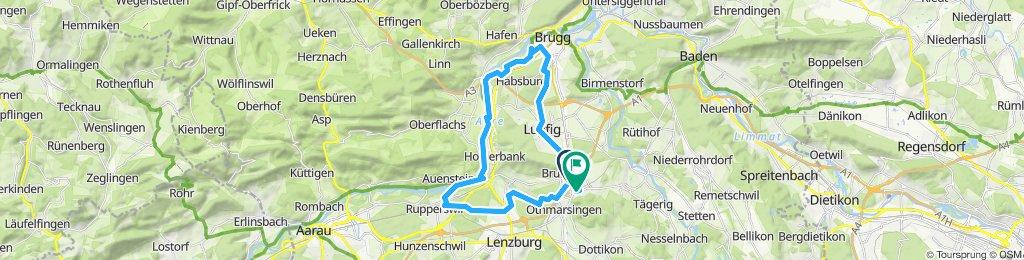 Gemütliche Route in Mägenwil