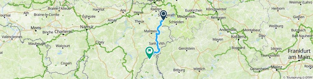 Etappe 6: Monschau - Troisvierges