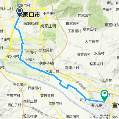11. parte 2 sud Zhangjakou - Xuanhua