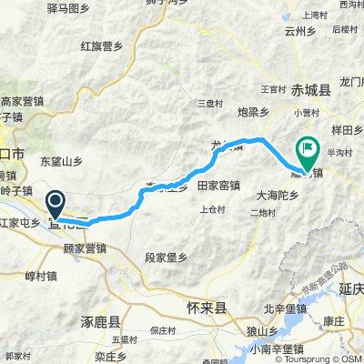 12 sud Xuanhua - Diao'ezhen