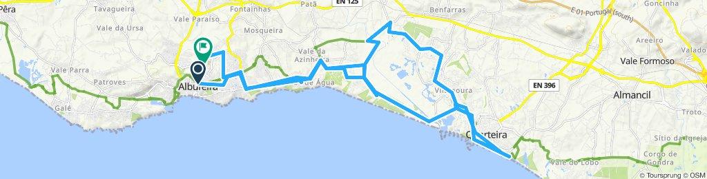 Itinéraire modéré en Albufeira
