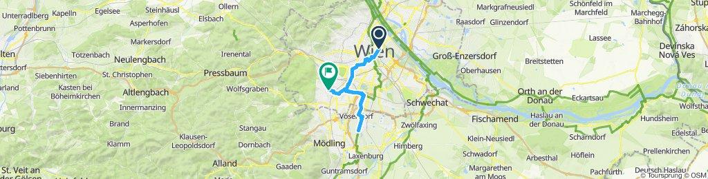 Gemütliche Route in Wien-Liesing
