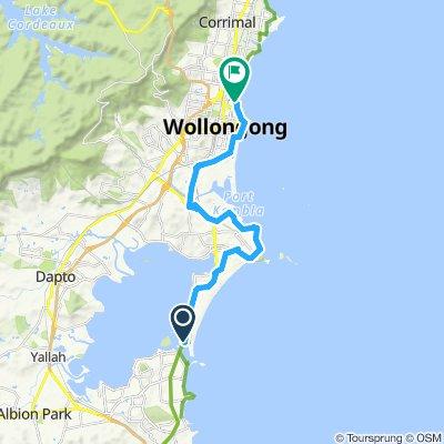 Windang to Wollongong