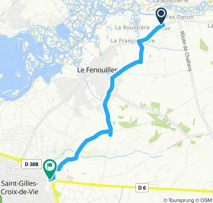 Slow ride in St.-Gilles-Croix-de-Vie