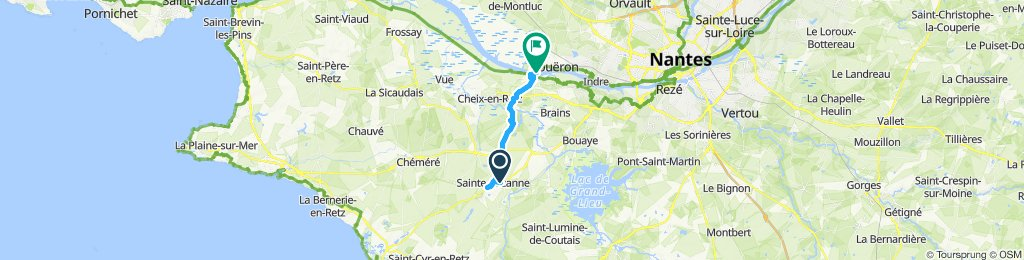 Moderate route in Coueron