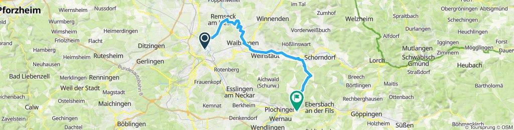 Hallschlag-Winterbach-Schlichten-Fils