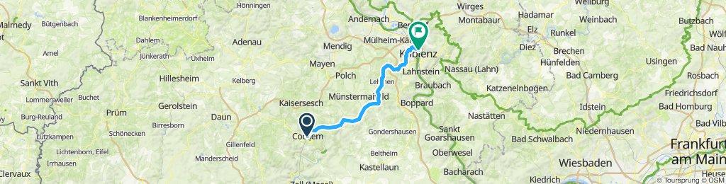 Mosel-4 Cochem - Koblenz