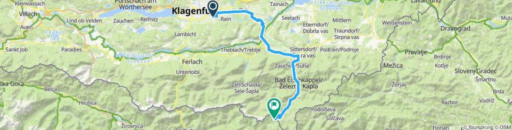 Ebenthal in Kärnten - Seeberg-Sattel