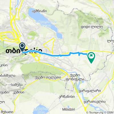Tbilisi Airport to AirBnB