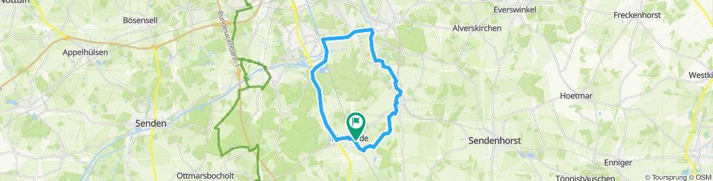 Route im Schneckentempo in Drensteinfurt
