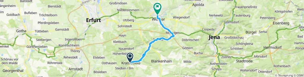 3a Kranichfeld - Weimar
