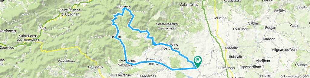 Murviel-Roquebrun-Vieussan-Berlou-Cessenon-Murviel 57k_1