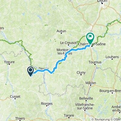 Tour 3 Besancon nach Chalon sur Saone