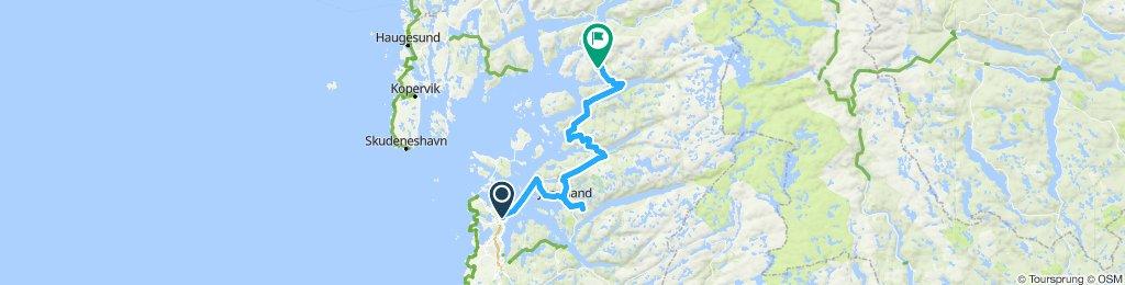 Route norvège 1