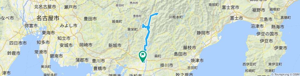 浜北-佐久間ダム-水窪ダム