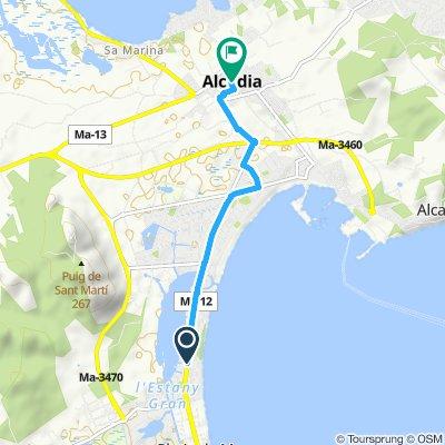 hotel to alcudia
