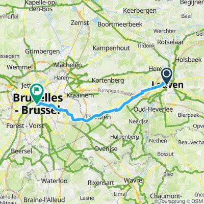 Leuven to Bru