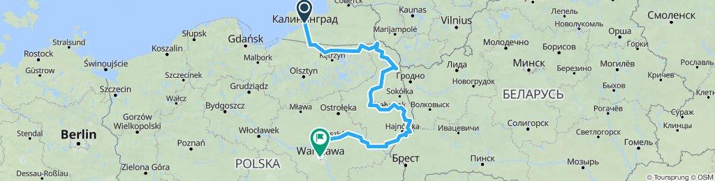 kaliningrad hotel Tourist-Varsavia