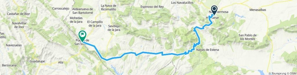 2ª etapa camino al Rocio Hontanar -Puerto de San Vicente