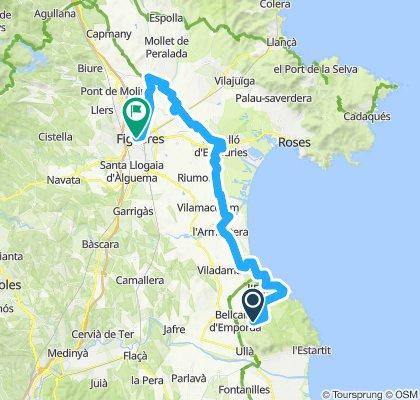4e etappe Sobrestany - Figueres (Plaza Inn)