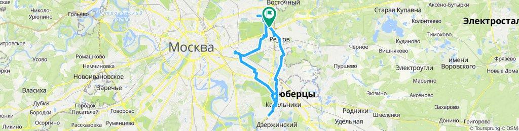 Велокурьерские ездки 23 07 2019 Измайлово - Карачарово - Дзержинский!