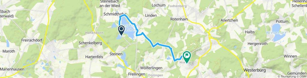 Gemütliche Route in Rothenbach