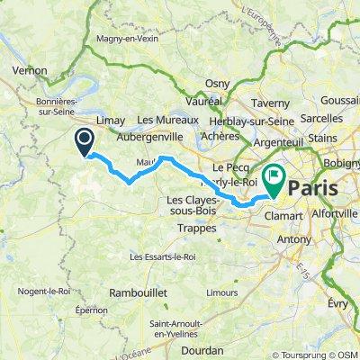 Itinéraire modéré en Boulogne-Billancourt