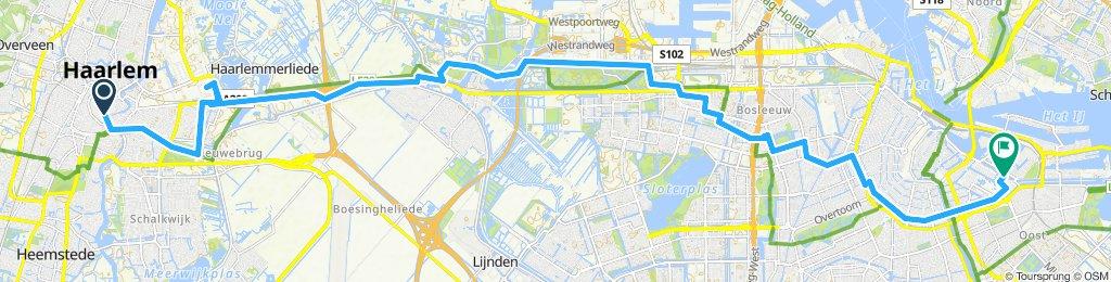 Langsame Fahrt in Amsterdam 2
