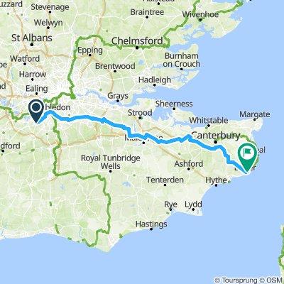 Chessington to Dover