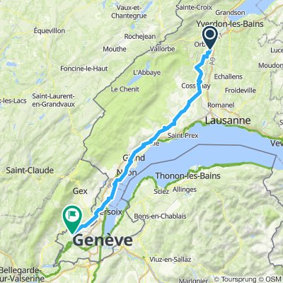 Itinéraire modéré en Satigny