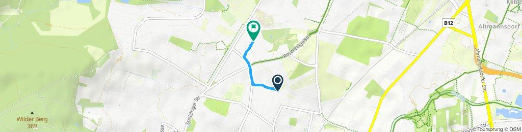 Route im Schneckentempo in Wien